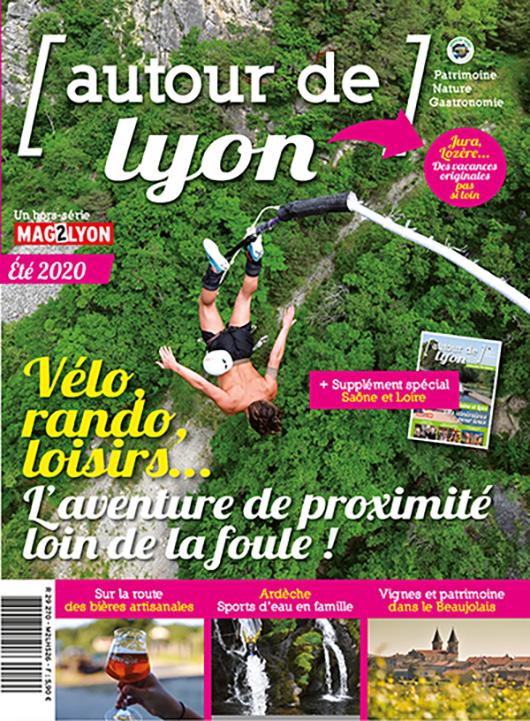 Image autour de Lyon